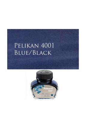 Pelikan 4001 Dolmakalem Mürekkebi 30 Ml. Mavi-siyah 0