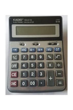 WOODOY Kadıo Hesap Makinesi Cep Kd-6118 0