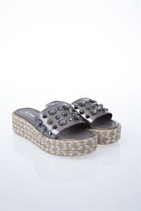 Pierre Cardin PC-6131 Platin Kadın Sandalet 2