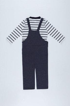 Defacto Erkek Bebek Tulum Ve Tişört Takım 1
