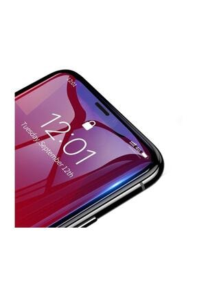 Baseus Iphone 11 Pro- X-xs 0.3mm Ful Tempered Anti Blue Light Ekran Koruyucu 2 Adet Set Şeffaf 1