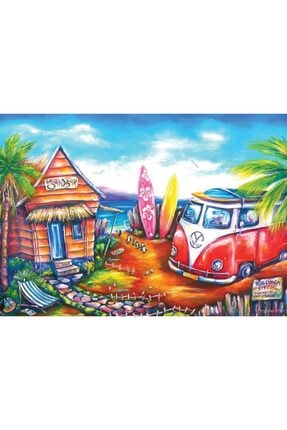 Art Puzzle Sörf Kampı 260 Parça Puzzle 1