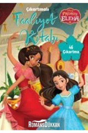 Doğan Egmont Yayıncılık Disney Prenses Elena Çıkartmalı Faaliyet Kitabı 0