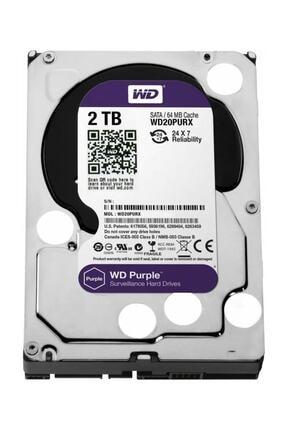"""Seagate Wd Purple 2tb 3,5"""" Sata Iıı 6gbit/s 64mb 7/24 Güvenlik Kamerası Diski Wd20purx 0"""