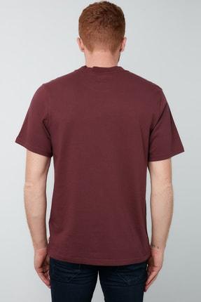 Levi's Erkek Bordo Bisiklet Yaka T-Shirt 3