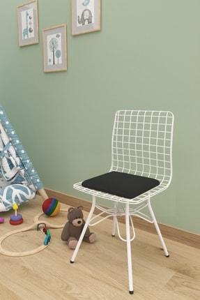 Evdemo Siyah Çocuk Sandalyesi Tel 0