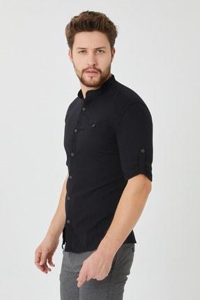 Cosmen Erkek Siyah Gömlek 1