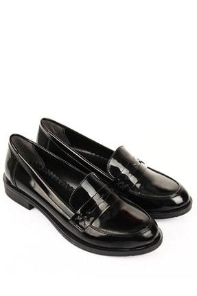 GÖNDERİ(R) Siyah Rugan Kadın Günlük (Casual) Ayakkabı 37102 3
