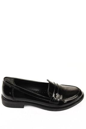 GÖNDERİ(R) Siyah Rugan Kadın Günlük (Casual) Ayakkabı 37102 4