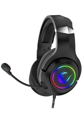 Rampage Rm-k68 Scorpy Siyah Usb 7.1 Surround Rgb Işık Efektli Gaming Oyuncu Mikrofonlu Kulaklık 0