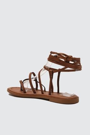 TRENDYOLMİLLA Taba Kadın Sandalet TAKSS21SD0026 3