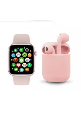 FERRO Watch 6 Plus Enson Seri 2021 Bluetooth Kulaklık Hediyeli Android Ve Ios Uyumlu 0