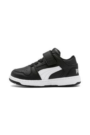 PM REBOUND LAYUP LO SL V Siyah Unisex Çocuk Sneaker Ayakkabı 100480573 resmi
