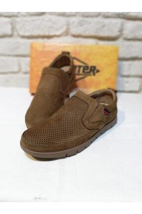 Erkek Kum Rengi Beta Bağcıksız Ayakkabı M5193K01