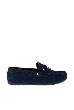 Vicco Unisex Lacivert Hakiki Deri Ayakkabı 211 920.18Y303G 1