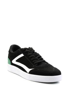 Bambi Siyah Süet Erkek Sneaker E01871000172 2