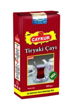 Çaykur Tiryaki Siyah Dökme Çay 500 gr 1
