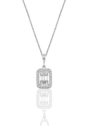 Söğütlü Silver Gümüş Rodyumlu Gümüş Baget Taşlı Üçlü Set 1