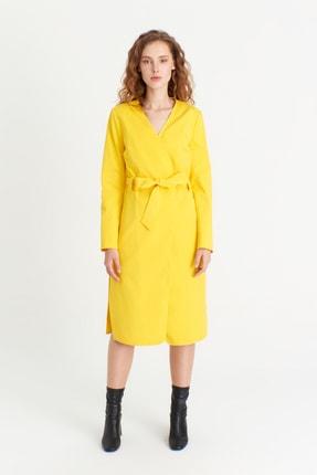 Kadın Sarı Şimal Trençkot 4334