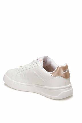 US Polo Assn EXXY Beyaz Kadın Havuz Taban Sneaker 100606373 4