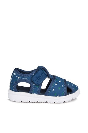 Vicco Bumba Erkek Bebe Lacivert Sandalet 2