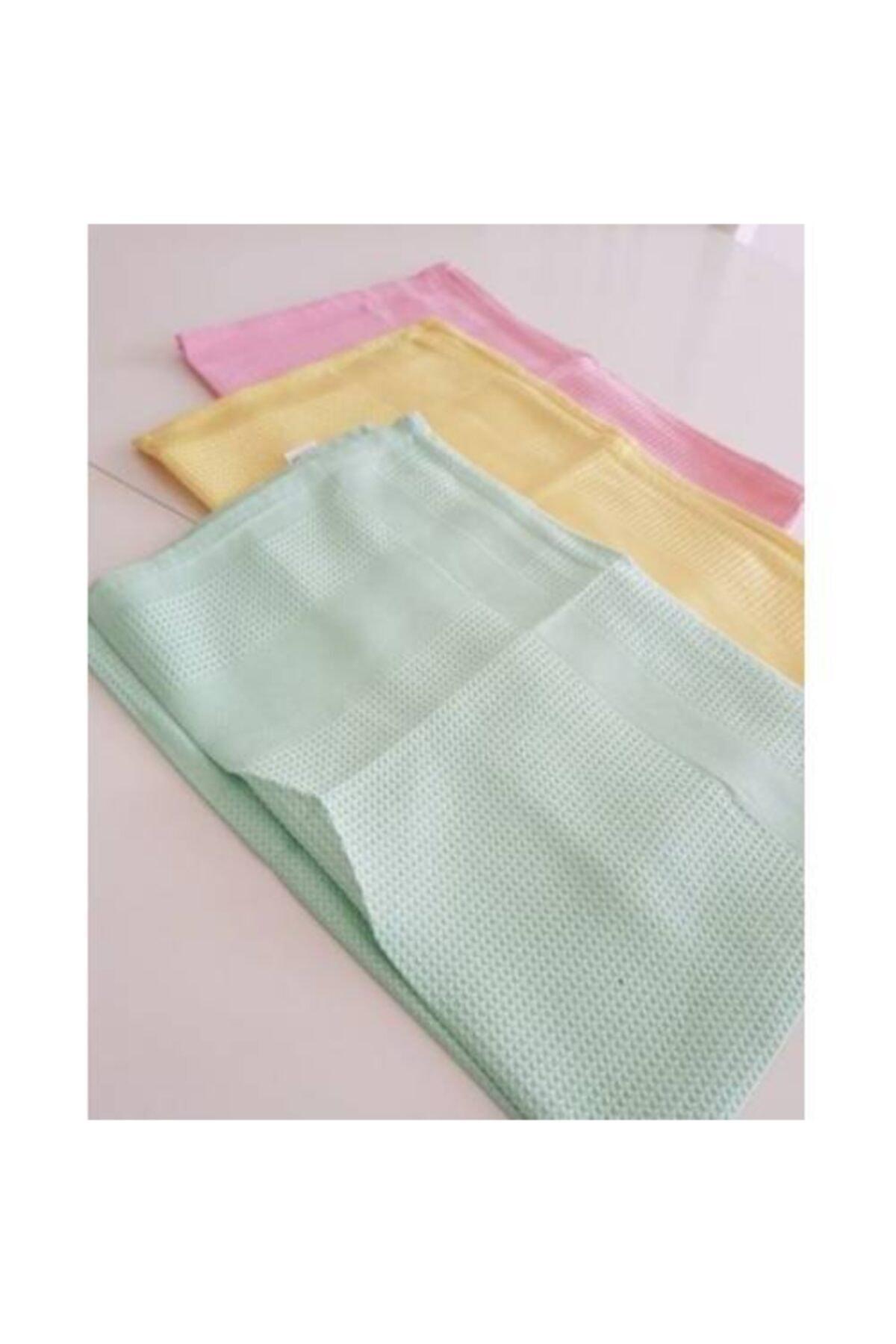 Ekostem Genel Kullanım Temizlik Bezi 3 Adet Çok Renkli Mikrofiber Bez
