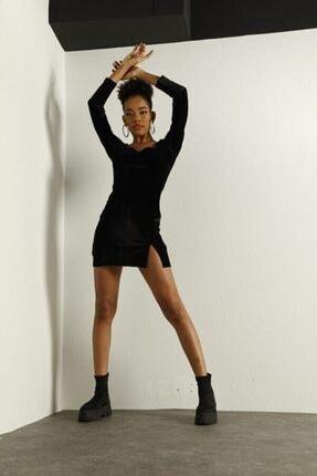 HOLLY LOLLY Kadın Siyah Elbise 1
