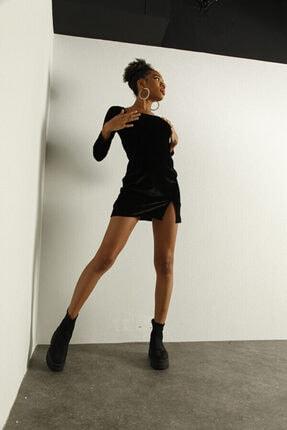 HOLLY LOLLY Kadın Siyah Elbise 4