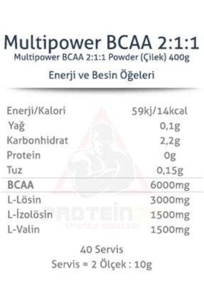 Multipower Bcaa Powder 400 Gr 1