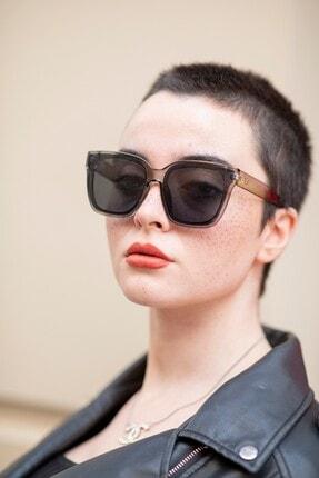 Bilge Karga Kadın Gri Bianca Grey Güneş Gözlüğü 1