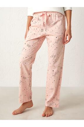 LC Waikiki Kadın Pembe Pijama Alt 2