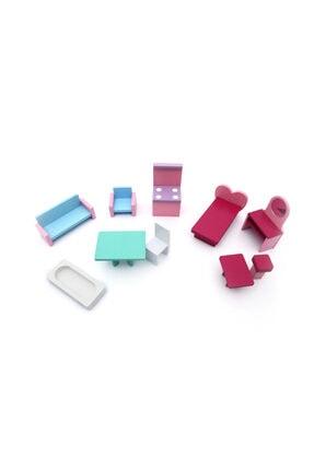 Hand craft toys Ahşap Oyuncak Ev 1