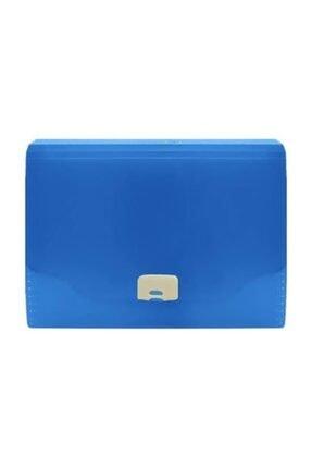 Faber Castell Körüklü Dosya Neon Renkler Koyu Mavi 5075392300000 0
