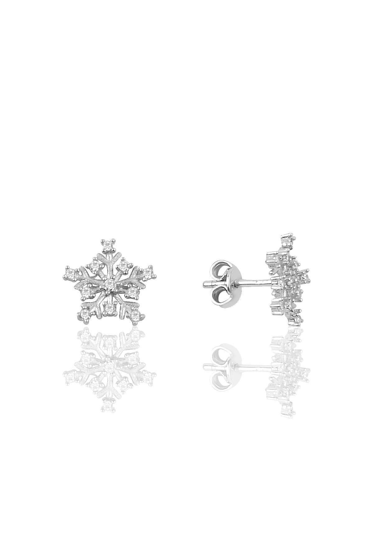 Söğütlü Silver Gümüş Rodyumlu Kartanesi Modeli Üçlü Set 3