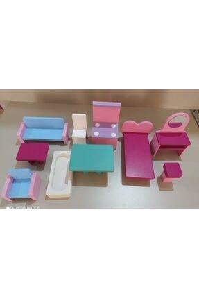 Hand craft toys Ahşap Oyun Evi 2