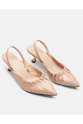 Jorbinol Kadın Bej Baye Ayakkabı 0