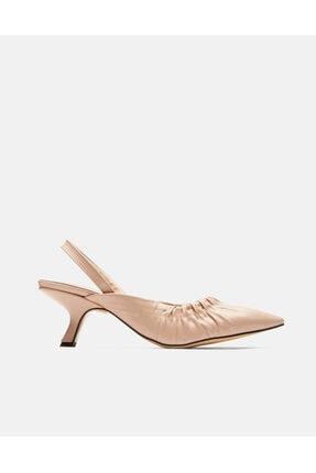 Jorbinol Kadın Bej Baye Ayakkabı 1