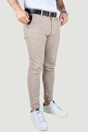 Terapi Men Erkek Bej Keten Pantolon 1