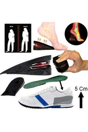 jetfast 5 Cm Gizli Topuk Hava Yastıklı Boy Uzatıcı Tabanlık Uzatan Taban Uzatma Tabanı Ayakkabı Tabanlığı 1