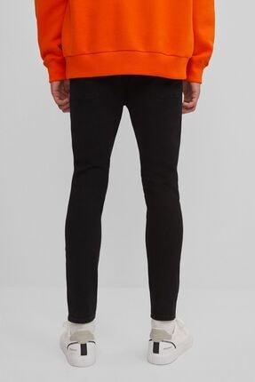 Bershka Kadın Siyah Super Skinny Fit Jean 3