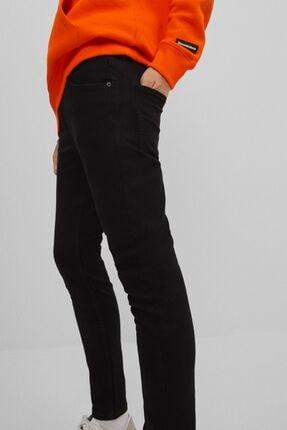 Bershka Kadın Siyah Super Skinny Fit Jean 4