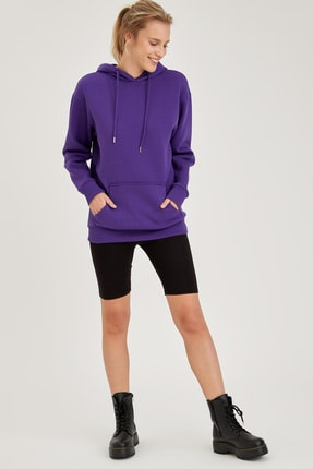 Defacto Kapüşonlu Regular Fit Sweatshirt 1