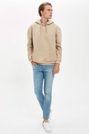 Defacto Oversize Fit Kapüşonlu Sweatshirt 1