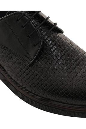 CSS FURKAN Erkek Bağcıklı Siyah Hakiki Deri Günlük Ayakkabı 3