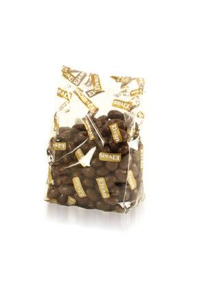 Elvan Bonbon Chipsy Kakao Kaplı Badem Şekilli Bisküvi Draje 500 Gr. (1 Poşet) 0