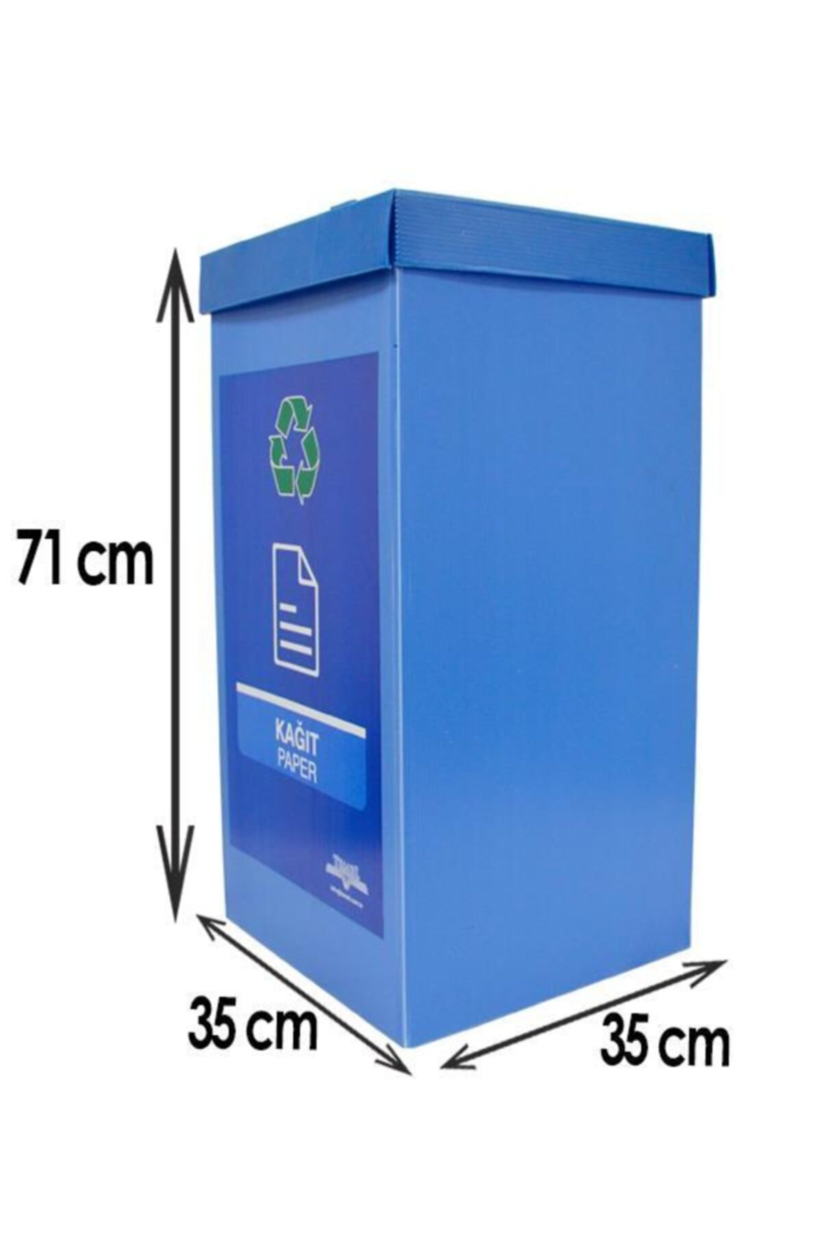 Temel 5'li Geri Dönüşüm Kutusu - Sıfır Atık Kutusu Seti 5 Adet