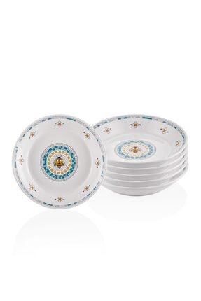 The Mia Patio Yemek Tabağı - 6lı Set 20 Cm 0
