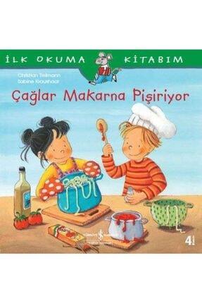 TÜRKİYE İŞ BANKASI KÜLTÜR YAYINLARI Çağlar Makarna Pişiriyor / Ilk Okuma Kitabım 0