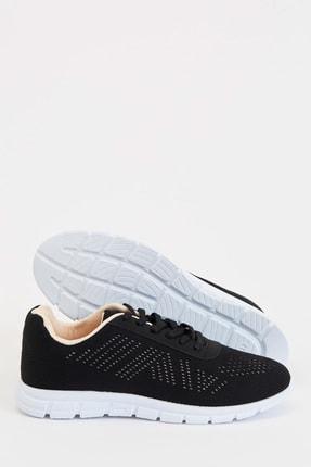 Defacto Kadın Siyah Bağcıklı Aktif Spor Ayakkabı S1728AZ20AU 3