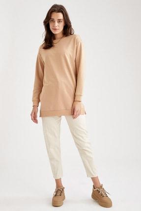 Defacto Oversize Basic Tunik Sweatshirt 1